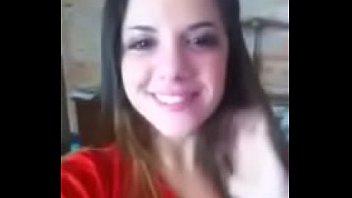 Mallandrinha Brasileira Caiu Na Net Se Masturbando Para Seu Namorado