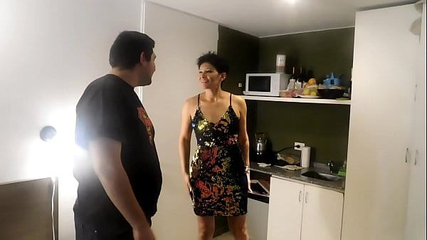 Mãe e filho transando gostoso em vídeo de incesto