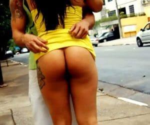 Putinhas Gostosas Dando CU Na Rua De SP Ao Vivo
