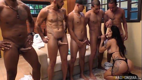 SEX4U video porno com Shayene Samara